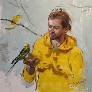 1. Fugl i hånden